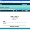Online Resume Services: Think Before Uploading
