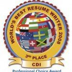 World Resume Writing Contest: Place Winner!