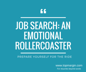 job search an emotional rollercoaster