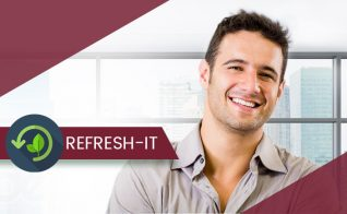 Refresh it resume services for returning customers