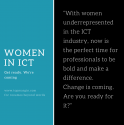 Women and the Australian ICT sector