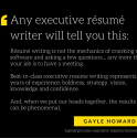 The Value of an Executive Resume Writer