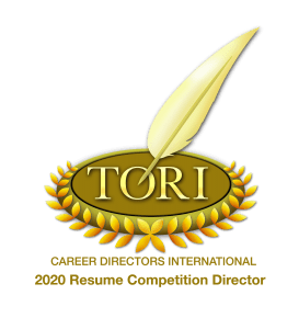 Director logo for 2020 TORI Awards with link to Career Directors TORI awards.